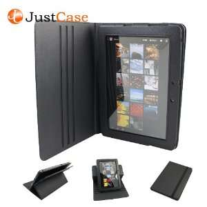 JustCase MultiDisplay Dual View Geniune Leather Cover Case