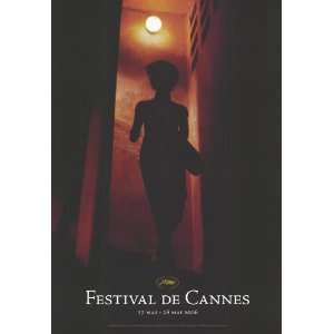 Cannes Film Festival   Movie Poster   27 x 40