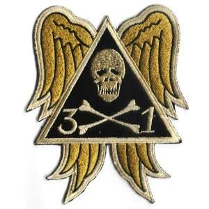31st Bomb Squadron 5.75 Patch Triangle