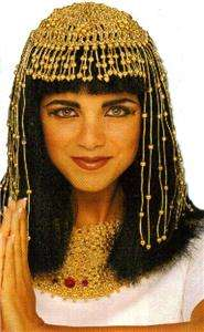 CLEOPATRA Egyptian Nile Queen Womens HEAD DRESS TIARA Costume HEADGEAR