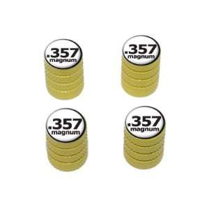 357 Magnum Gun Weapon Bullet   Tire Rim Valve Stem Caps
