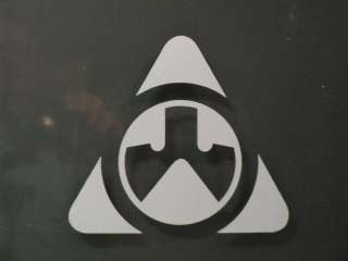 MAGPUL TRIANGLE LOGO STICKER DECAL 3 RIFLE GUN VINYL RIFLE AR15