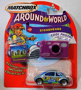 MATCHBOX AROUND THE WORLD STONEHENGE #17 VW VOLKSWAGEN BEETLE BUG
