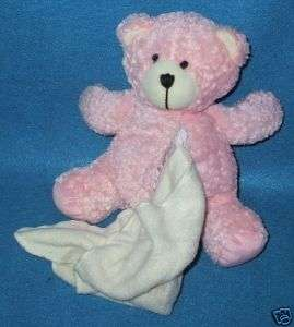 Pink Stephen Sitting Teddy Bear With Blanket In Belly