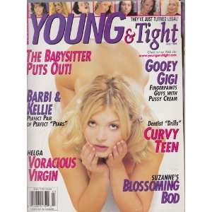 JULY 1999 YOUNG AND TIGHT magazine: Diana Sheridan: Books