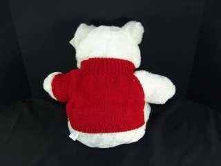 BIG NEW VALENTINE ROSE HEART SWEATER PLUSH TEDDY BEAR