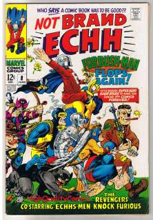 not brand echh 8 publisher marvel comics art by featuring stories