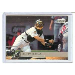 2001 STADIUM CLUB SANDY ALOMAR #64, WHITE SOX ,: Everything Else