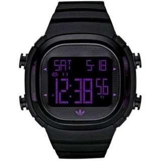 Adidas Black & White Digital Chronograph Uhr, Herren
