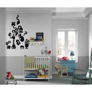 Children Million Questions Kids Room Wall Mural Vinyl Art Sticker M319