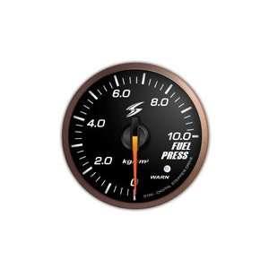 STRI Racing DSD CS 52mm Fuel Pressure Gauge Black Automotive