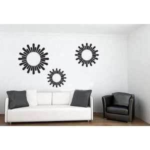Wall Decal Custom Vinyl Art Stickers   Modern Solar System