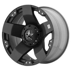KMC XD Rockstar Black Wheel/Rim(s) 6x139.7 6 139.7 6x5.5 18 9