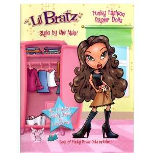 Lil Bratz Paperdoll Books   Style by the Mile