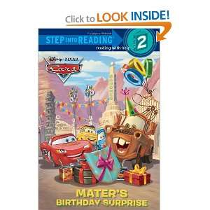 com Maters Birthday Surprise (Disney/Pixar Cars) (Step into Reading