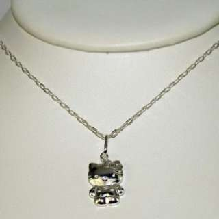 3D Genuine Sterling Silver 925 Necklace Pendant Girl Kids Charm