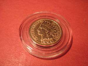 1906 INDIAN HEAD PENNY 1 CENT PIECE