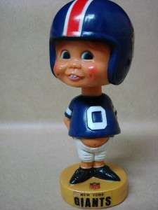 Vintage NFL New York Giants Sports Bobble Head Original Nodder 7