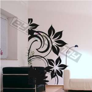 Flower Wall Art Decal Sticker Words Quote Mural Decor