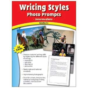 Pack EDUPRESS WRITING STYLES PHOTO PROMPTS GR 4 &: Everything Else