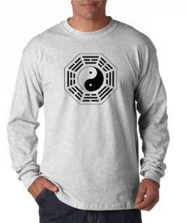 Ying Yang Chi Taoist Long Sleeve Tee Shirt