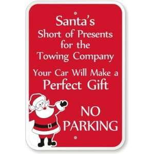 Santas Short of Presents for the Company, Your Car Will Make