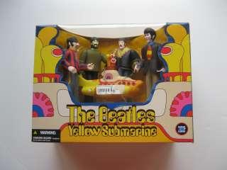 MCFARLANE BEATLES YELLOW SUBMARINE 4 FIGURE BOX SET JOHN PAUL GEORGE