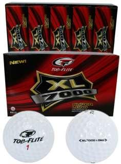NEW (30) Top Flite XL 7000 Super Long Golf Balls 2 x 15 packs