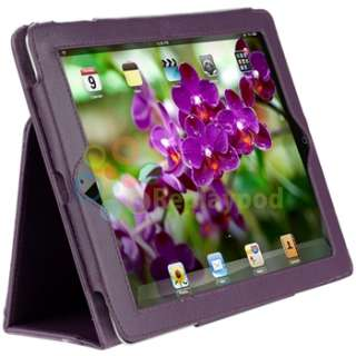 +Pink+White Skin Case+Screen Protector Accessory For iPad 2