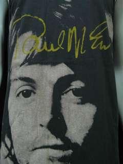 Vintage Rock Retro THE BEATLES Pop T Shirt Mens L