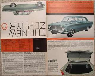 brochure from november 1963 published by ford motor company limited