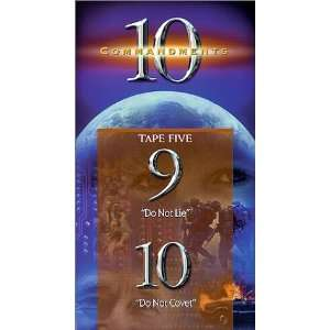 Ten Commandments 9 & 10 [VHS] Adrian Snell Movies & TV