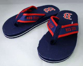 MLB Boston Red Sox Contoured Flip Flops (Medium)