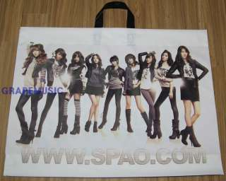 SNSD GIRLS GENERATION 2010 SM TOWN LIVE SPAO BAG NEW
