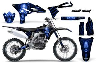 YAMAHA YZ250F 2010 2011 2012 GRAPHICS KIT DECALS SCBLB