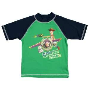 Disney Toy Story Buzz & Woody Space Cowboyz Rash Guard
