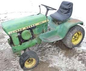 John Deere 140 Tractor Gas Fuel Tank