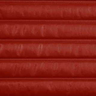 MARINE GRADE 51 in HEAT PLEATED DARK RED CHANN BOAT VINYL