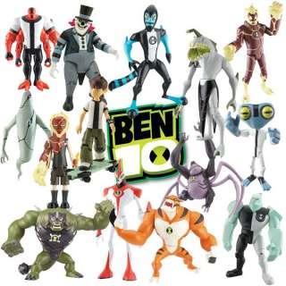 NEW BEN 10   10CM ACTION FIGURES WITH BONUS   CHOOSE YOUR OWN