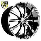 24x9 Lexani Wheel LSS 10 Rim Tire Charger Chrysler 300