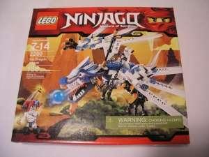 LEGO SET #2260 NINJAGO ICE DRAGON ATTACK MASTERS OF SPINJITZU NEW NIB