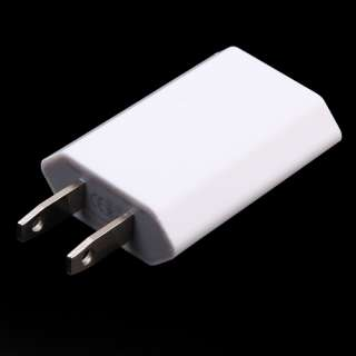 AC WALL CHARGER+USB SYNC DATA CABLE FOR iPhone 4G iPod