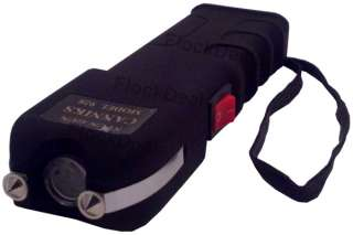 Million High Volt Heavy Duty Stun Gun LED Light (Rechargeable)