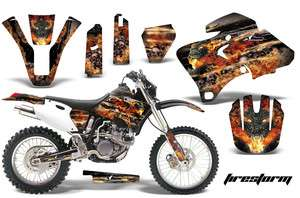 MOTORCROSS GRAPHIC STICKER MX KIT YAMAHA WR 250F 426F 400F 98 02 FSK