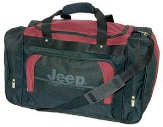 Official JEEP Duffel Holdall Luggage Travel Bag Sports Gym Bag 24