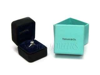 MINT TIFFANY & CO. PLATINUM DIAMOND ENGAGEMENT RING