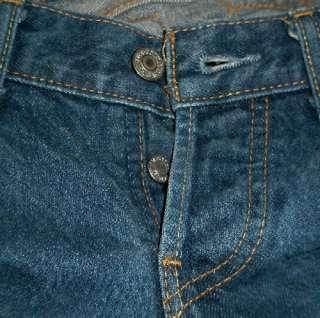 RARE MISSES LEVIS 593 Sz 31X28 button fly BLUE JEANS Boot Cut EUC 100%