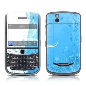 Blue Crush Design Skin Decal Sticker for Blackberry Bold 9650 Cell
