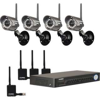 Digital Wireless Security Camera System 778597114126
