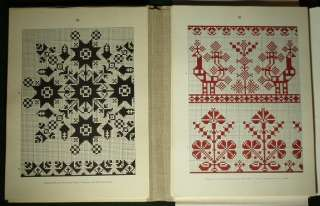 Romanian Folk Embroidery Pattern Saxon costume linen